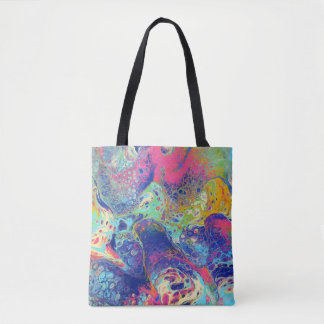 Fantabulous Acrylic Pour All Over Tote