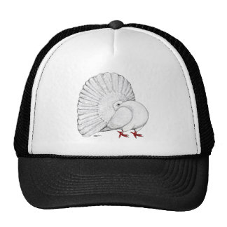 Fantail White Trucker Hats