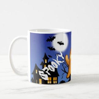 fantasmita of Whatsapp Spooky Halloween cup Classic White Coffee Mug