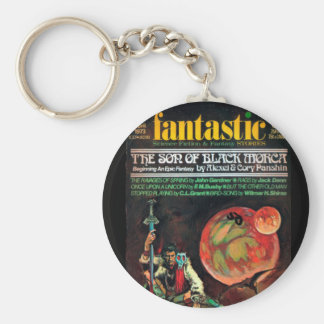 Fantastic - 1973.04_Pulp Art Basic Round Button Keychain
