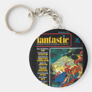 Fantastic - 1973.09_Pulp Art Basic Round Button Keychain