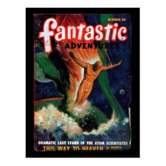 Fantastic Adventures - 1948-10_Pulp Art Postcard
