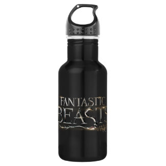Fantastic Beasts And Where To Find Them Logo 532 Ml Water Bottle