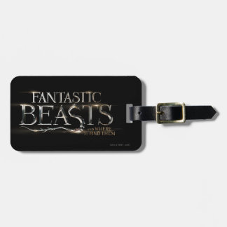 Fantastic Beasts And Where To Find Them Logo Bag Tag