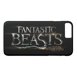 Fantastic Beasts And Where To Find Them Logo iPhone 7 Plus Case