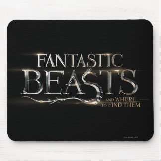Fantastic Beasts And Where To Find Them Logo Mouse Pad