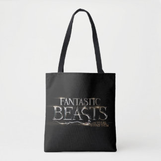 Fantastic Beasts And Where To Find Them Logo Tote Bag
