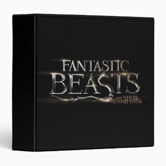 Fantastic Beasts And Where To Find Them Logo Vinyl Binder