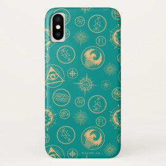 Fantastic Beasts And Where To Find Them Pattern iPhone X Case