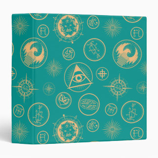 Fantastic Beasts And Where To Find Them Pattern Vinyl Binder