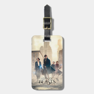 Fantastic Beasts City Fog Poster Bag Tag