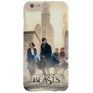 Fantastic Beasts City Fog Poster Barely There iPhone 6 Plus Case