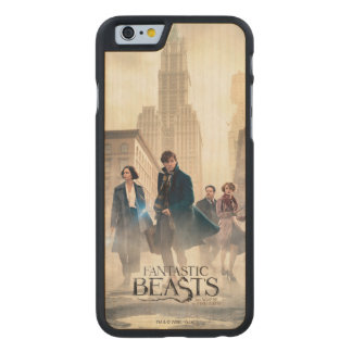 Fantastic Beasts City Fog Poster Carved Maple iPhone 6 Case