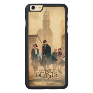 Fantastic Beasts City Fog Poster Carved Maple iPhone 6 Plus Case