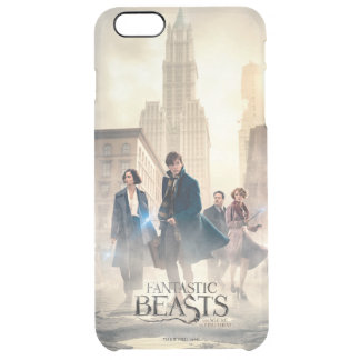 Fantastic Beasts City Fog Poster Clear iPhone 6 Plus Case