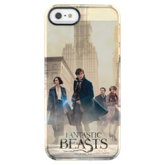 Fantastic Beasts City Fog Poster Clear iPhone SE/5/5s Case