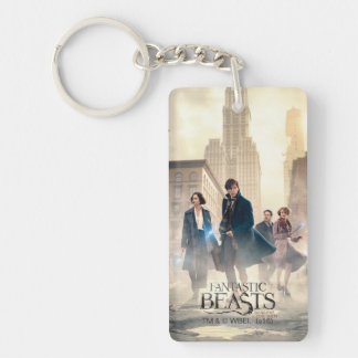 Fantastic Beasts City Fog Poster Double-Sided Rectangular Acrylic Keychain
