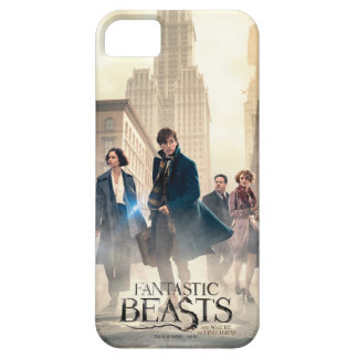 Fantastic Beasts City Fog Poster iPhone 5 Cases