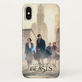 Fantastic Beasts City Fog Poster iPhone X Case