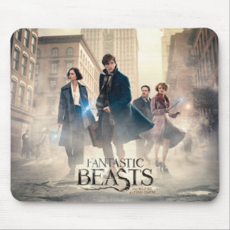 Fantastic Beasts City Fog Poster Mouse Pad