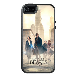 Fantastic Beasts City Fog Poster OtterBox iPhone 5/5s/SE Case