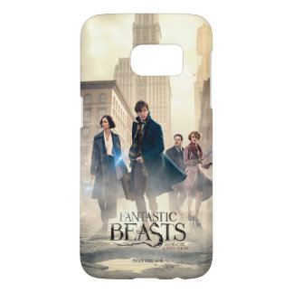 Fantastic Beasts City Fog Poster Samsung Galaxy S7 Case