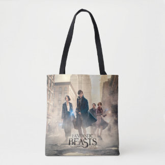 Fantastic Beasts City Fog Poster Tote Bag