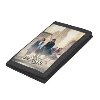 Fantastic Beasts City Fog Poster Trifold Wallet