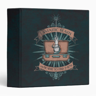 Fantastic Beasts Newt's Briefcase Graphic Binder