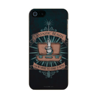 Fantastic Beasts Newt's Briefcase Graphic Incipio Feather® Shine iPhone 5 Case