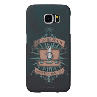 Fantastic Beasts Newt's Briefcase Graphic Samsung Galaxy S6 Cases