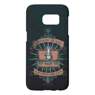 Fantastic Beasts Newt's Briefcase Graphic Samsung Galaxy S7 Case