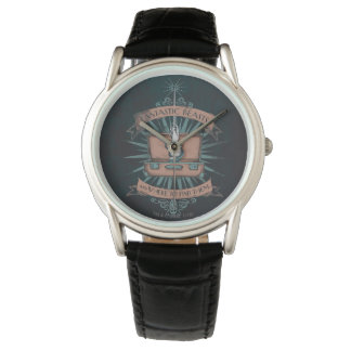 Fantastic Beasts Newt's Briefcase Graphic Wristwatch