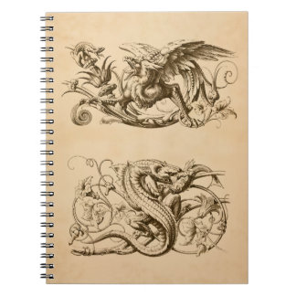 Fantastic Beasts Spiral Notebook