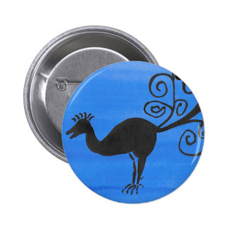 Fantastic Bird 2 Inch Round Button