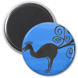 Fantastic Bird 2 Inch Round Magnet