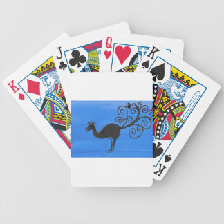 Fantastic Bird Bicycle Playing Cards