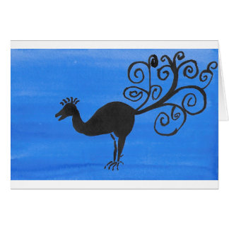 Fantastic Bird Card