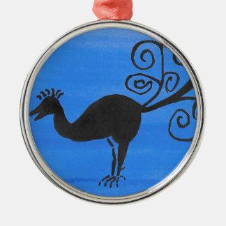 Fantastic Bird Metal Ornament