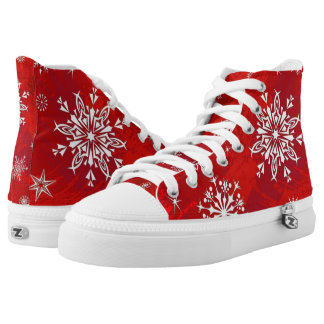 Fantastic Christmas High Top ZIPZ SHoes!
