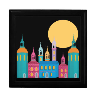 Fantastic City of Towers Under the Moon Gift Box