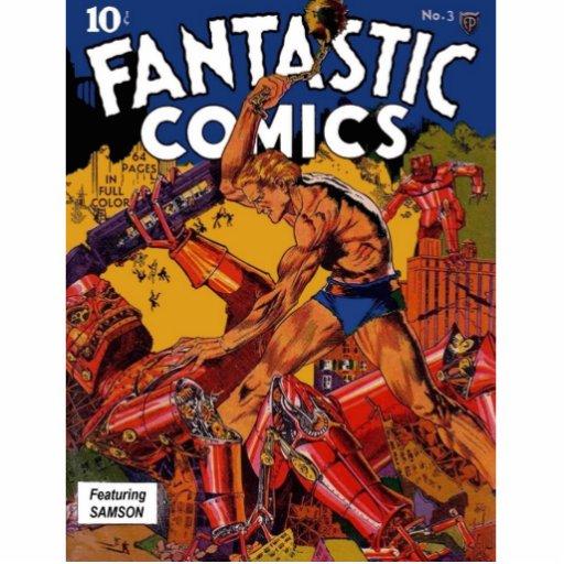 Fantastic Comics 3 Photo Sculptures