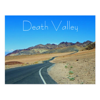 Fantastic Death Valley Postcard! Postcard