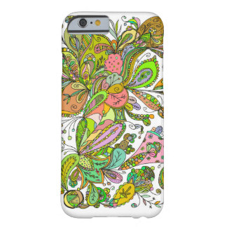 Fantastic doodle pattern barely there iPhone 6 case