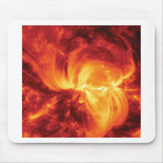 fantastic fire mouse pad