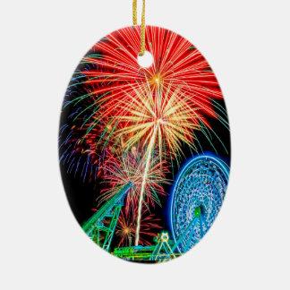 Fantastic Fireworks Ornament