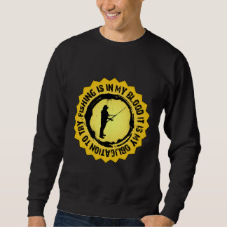 Fantastic Fishing Seal Sweatshirt