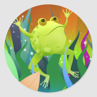 Fantastic Frog stickers