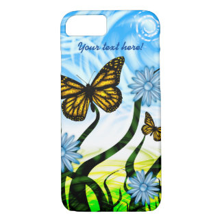 Fantastic Graphic Butterflies Flutter By Collage iPhone 8/7 Case