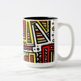 Fantastic Helpful Trusting Tidy Two-Tone Coffee Mug